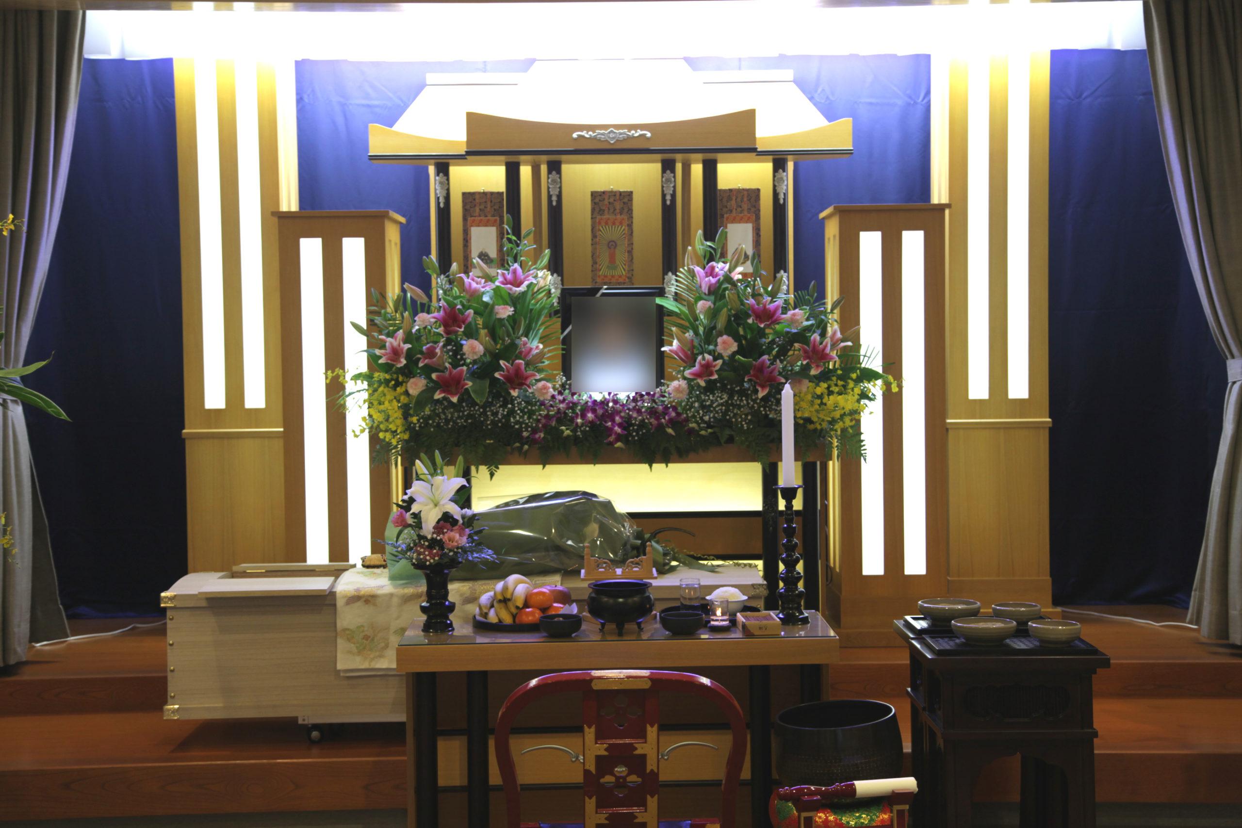 家族葬祭壇10万円