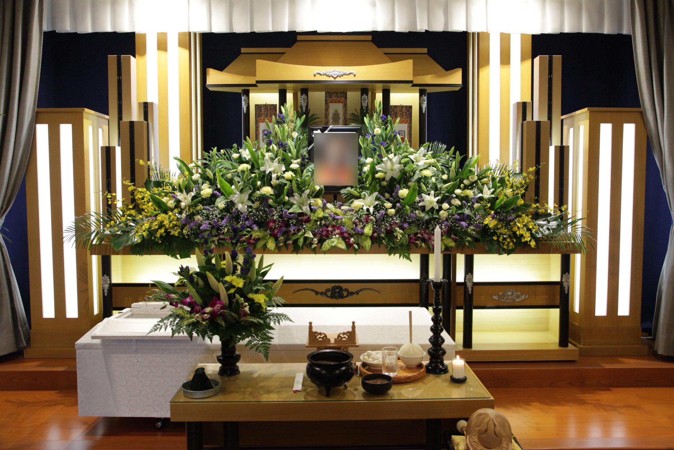 家族葬祭壇30万円