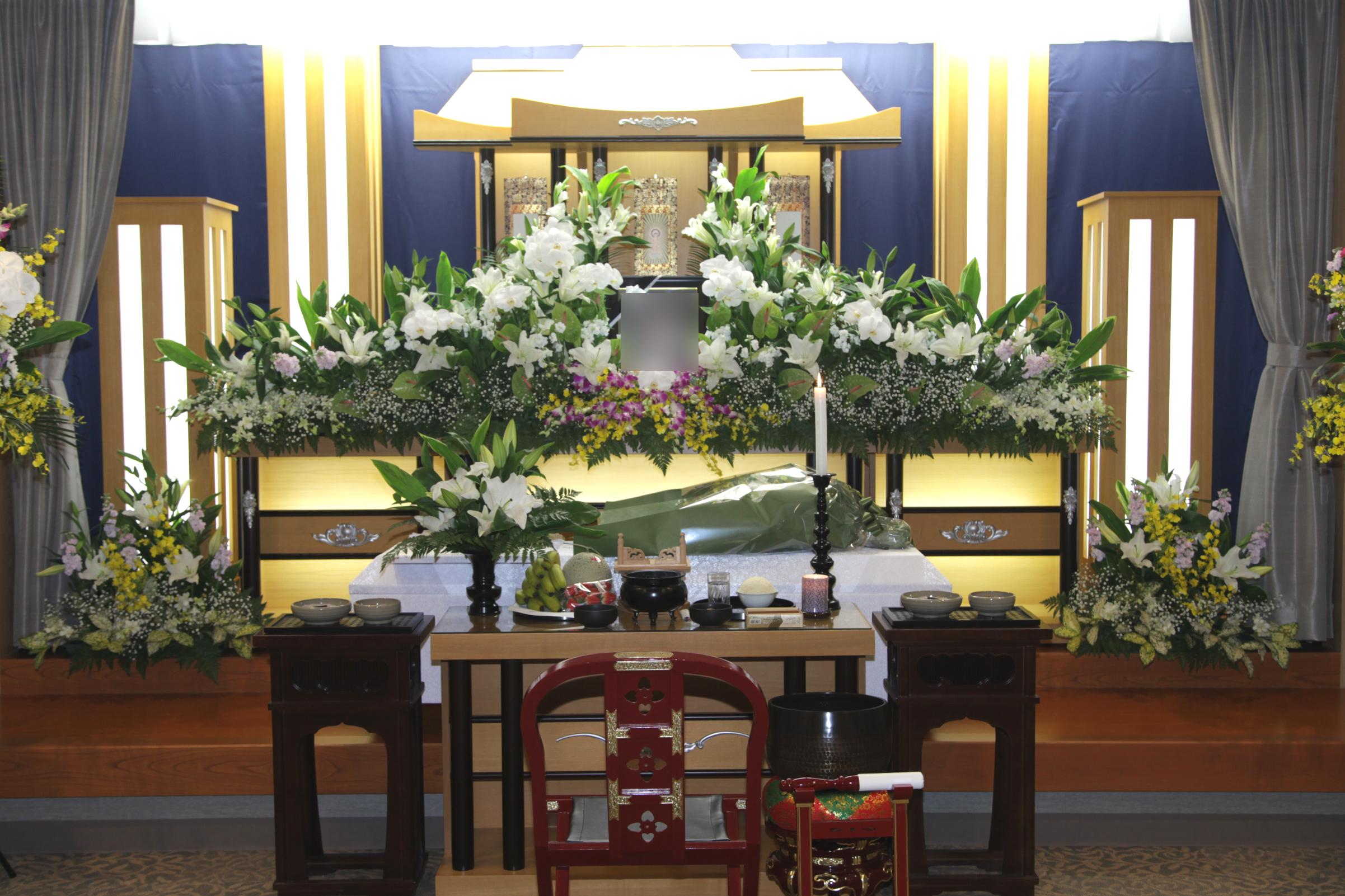 家族葬祭壇40万円
