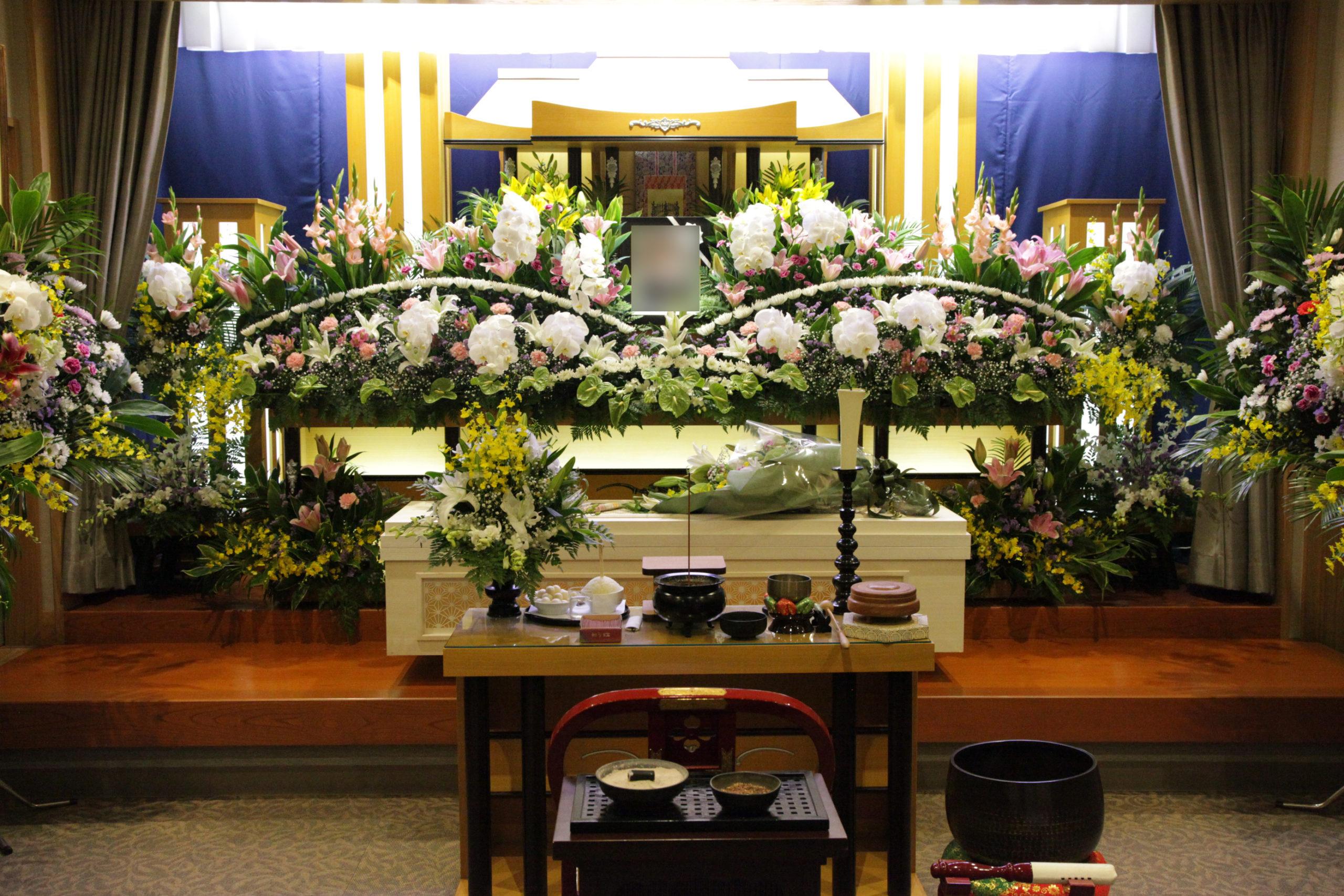 家族葬祭壇50万円