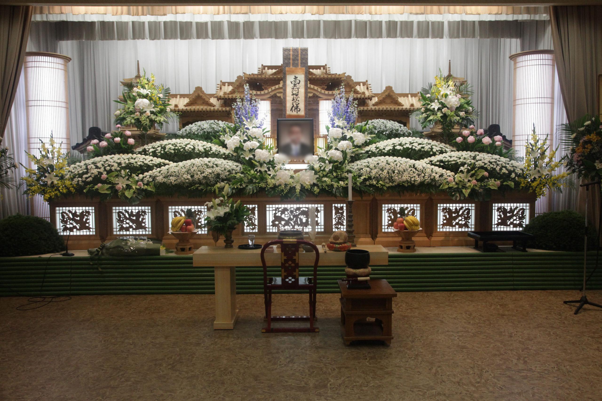 祭壇100万円